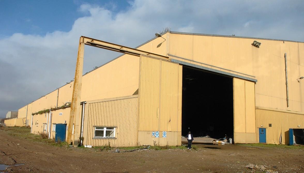 McDermott fabrication yard  at Ardersier