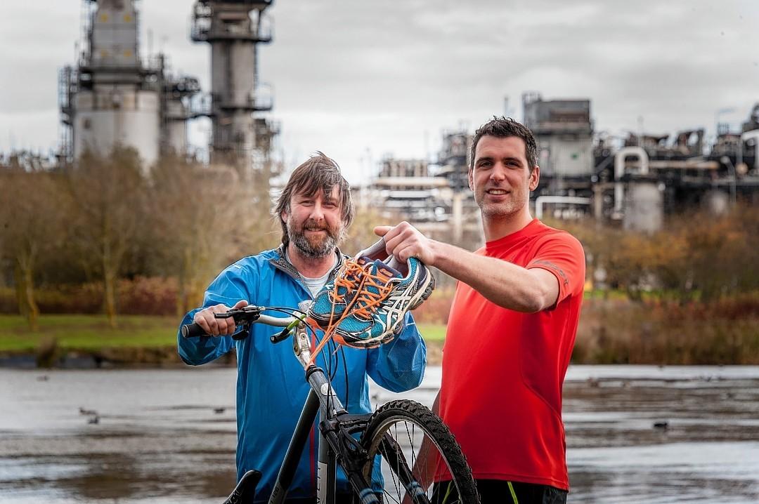 Brian Dickson and Allan Morrice