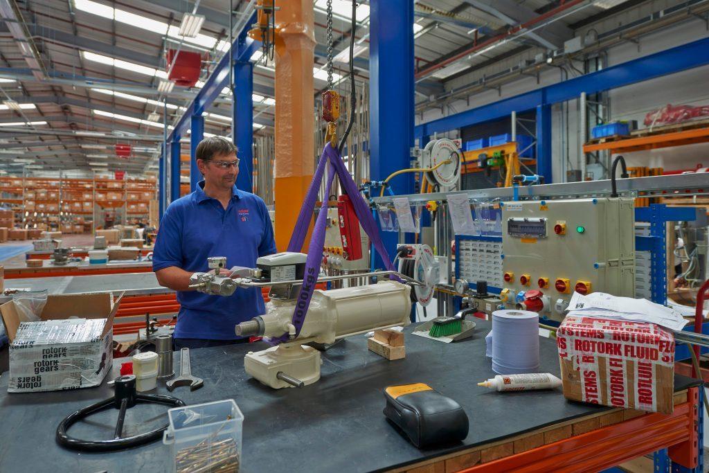 Rotork's factory in Leeds