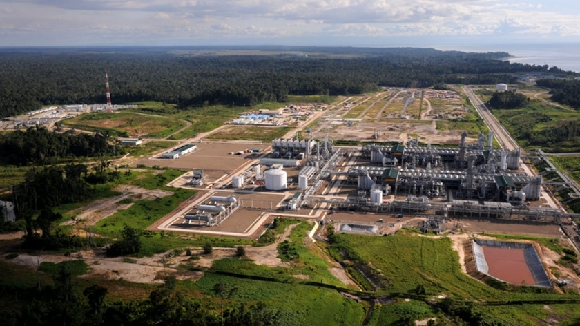 The Tangguh LNG plant in Indonesia