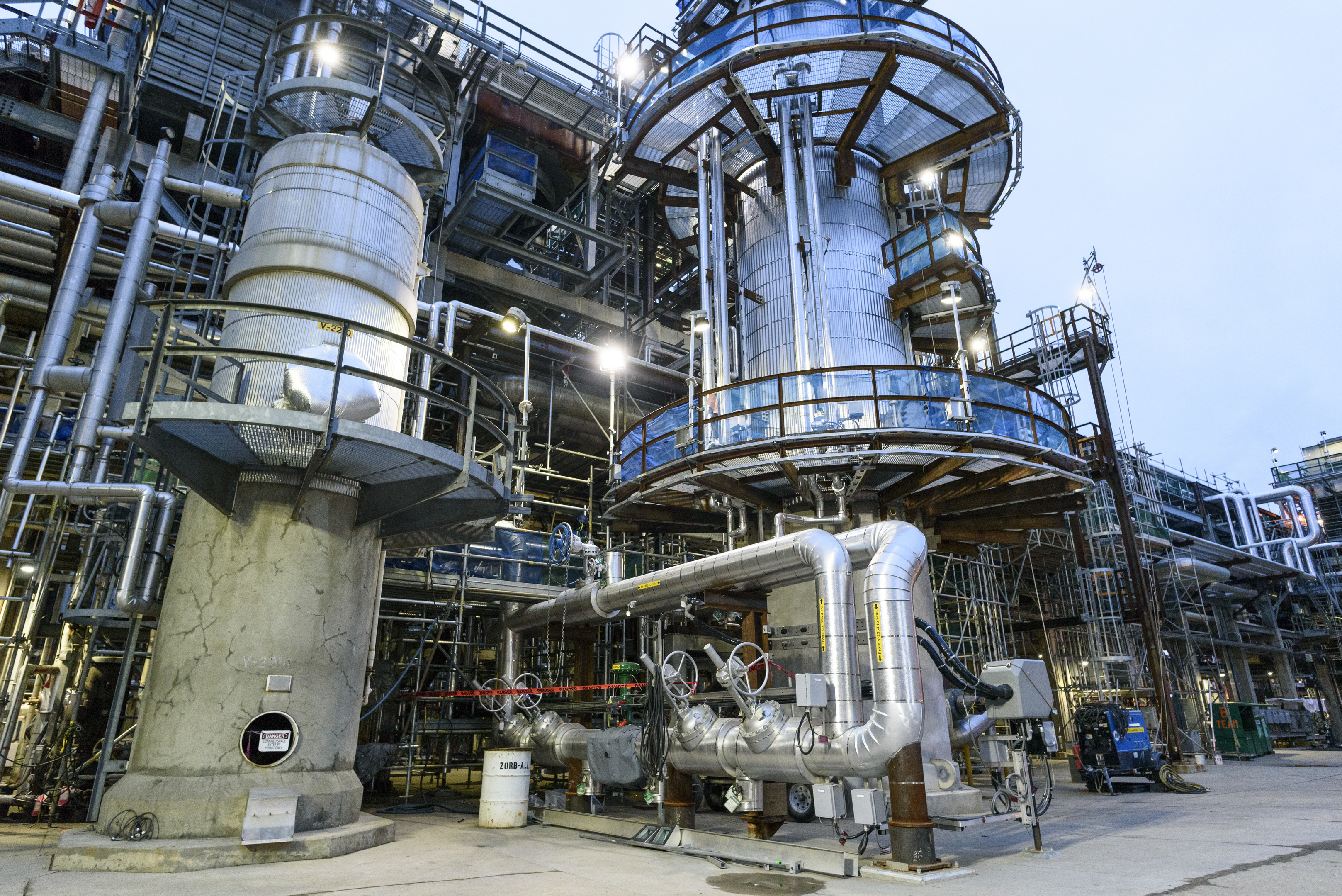 Shell's Scotford refinery