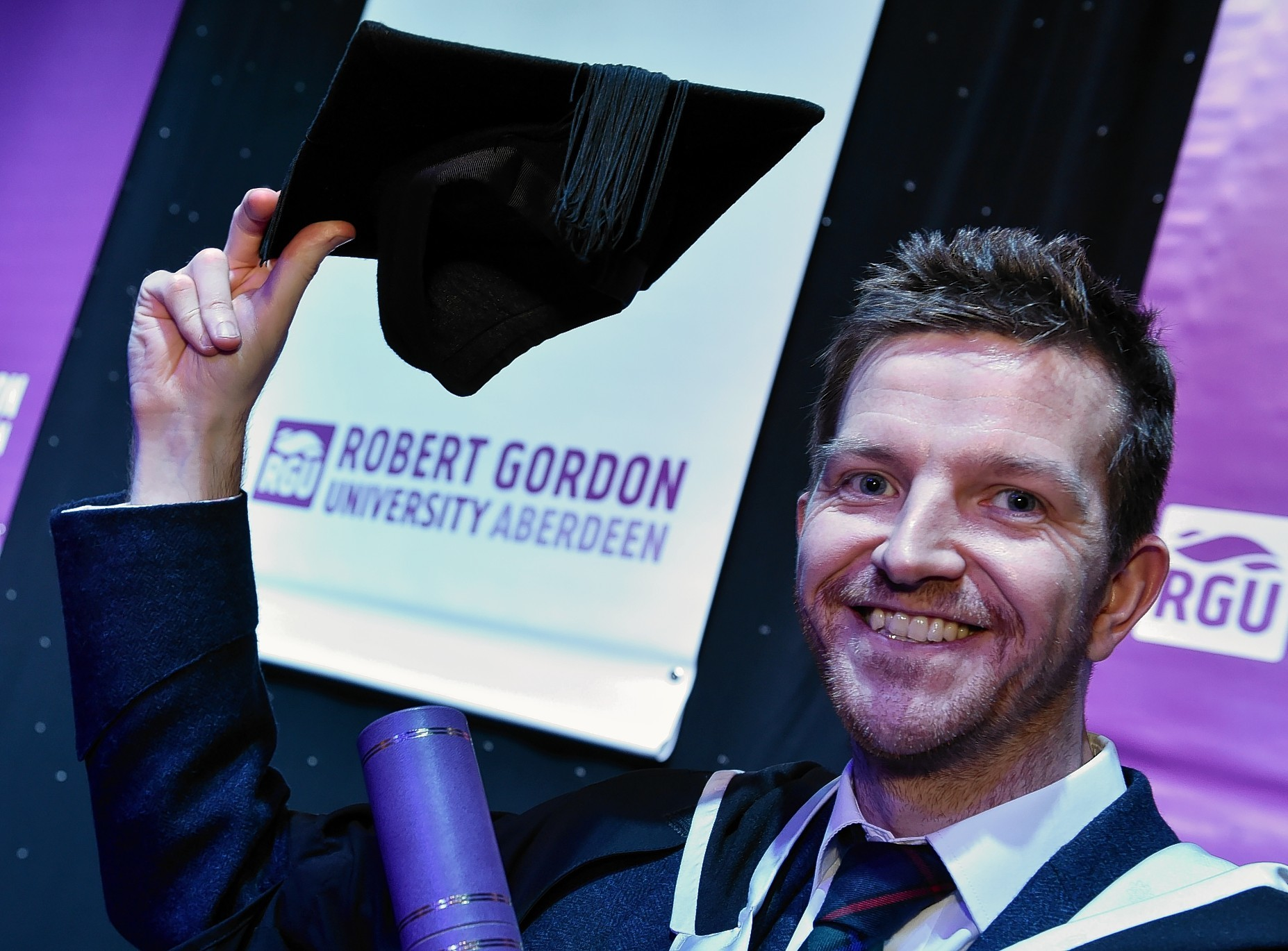 RGU graduate Chris Campbell