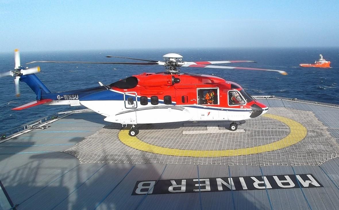 CHC Sikorsky lands on Statoil's Mariner B