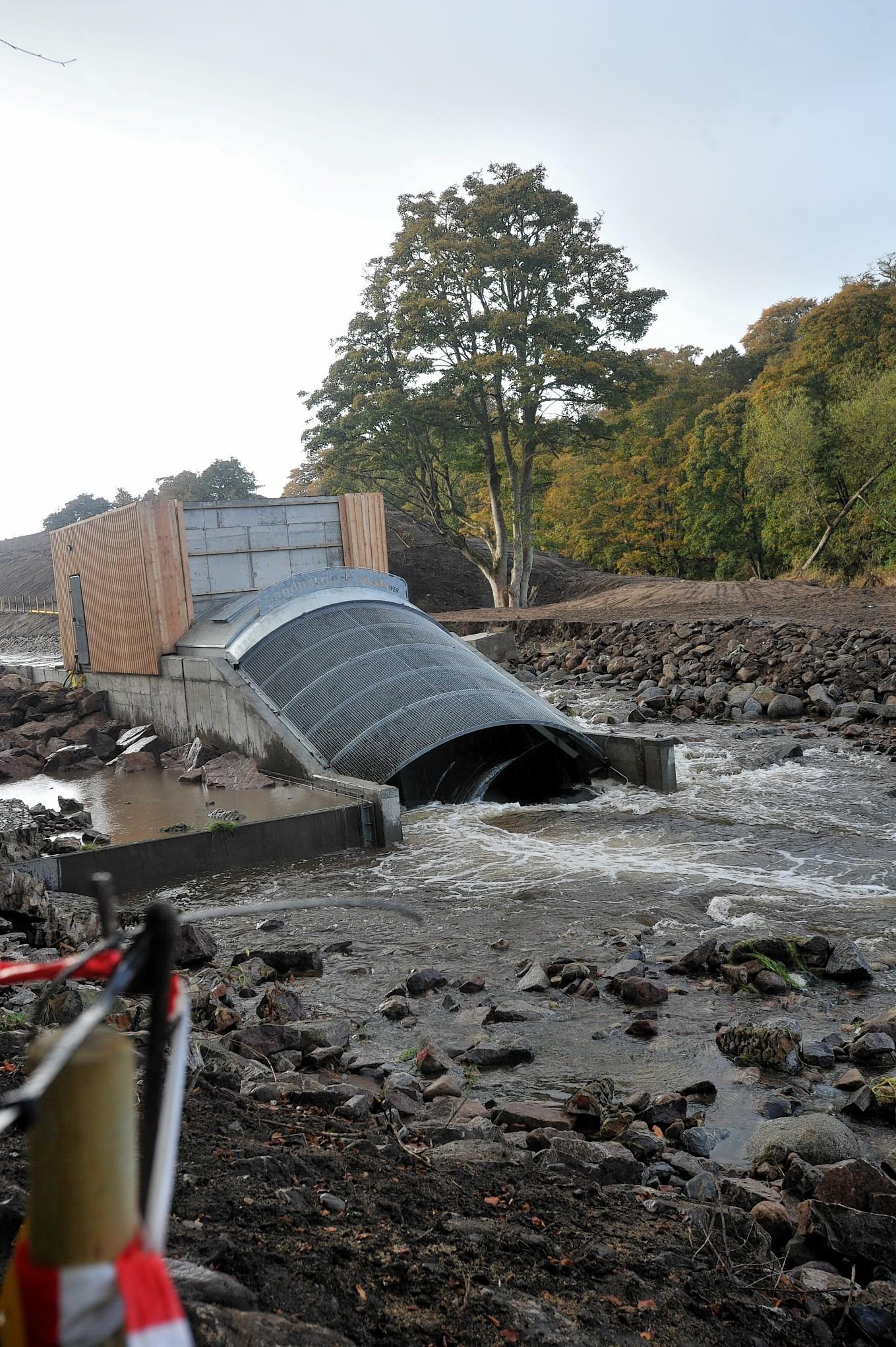 The Donside Hydro scheme at Tillydrone, Aberdeen.