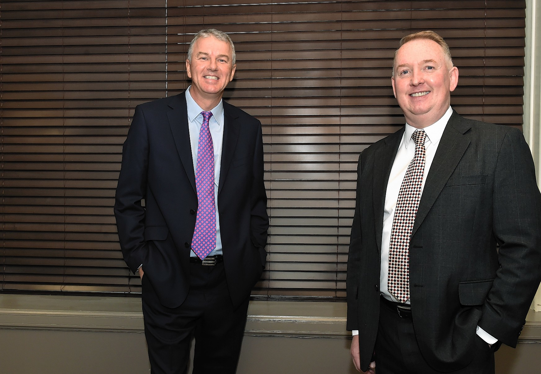 Doug Webster (left), formerly of Shell, and Peter Black, EnergySys MD
