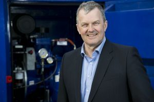 Hiretech managing director Andy Buchan