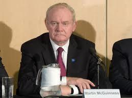 Former NI deputy first minister Martin McGuinness