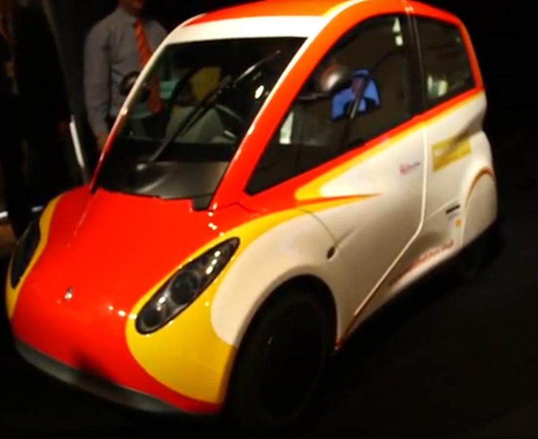 Shell's concept car