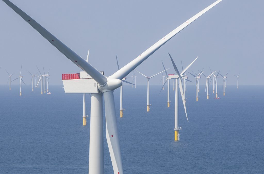 ScottishPower's first offshore wind farm West of Duddon Sands.