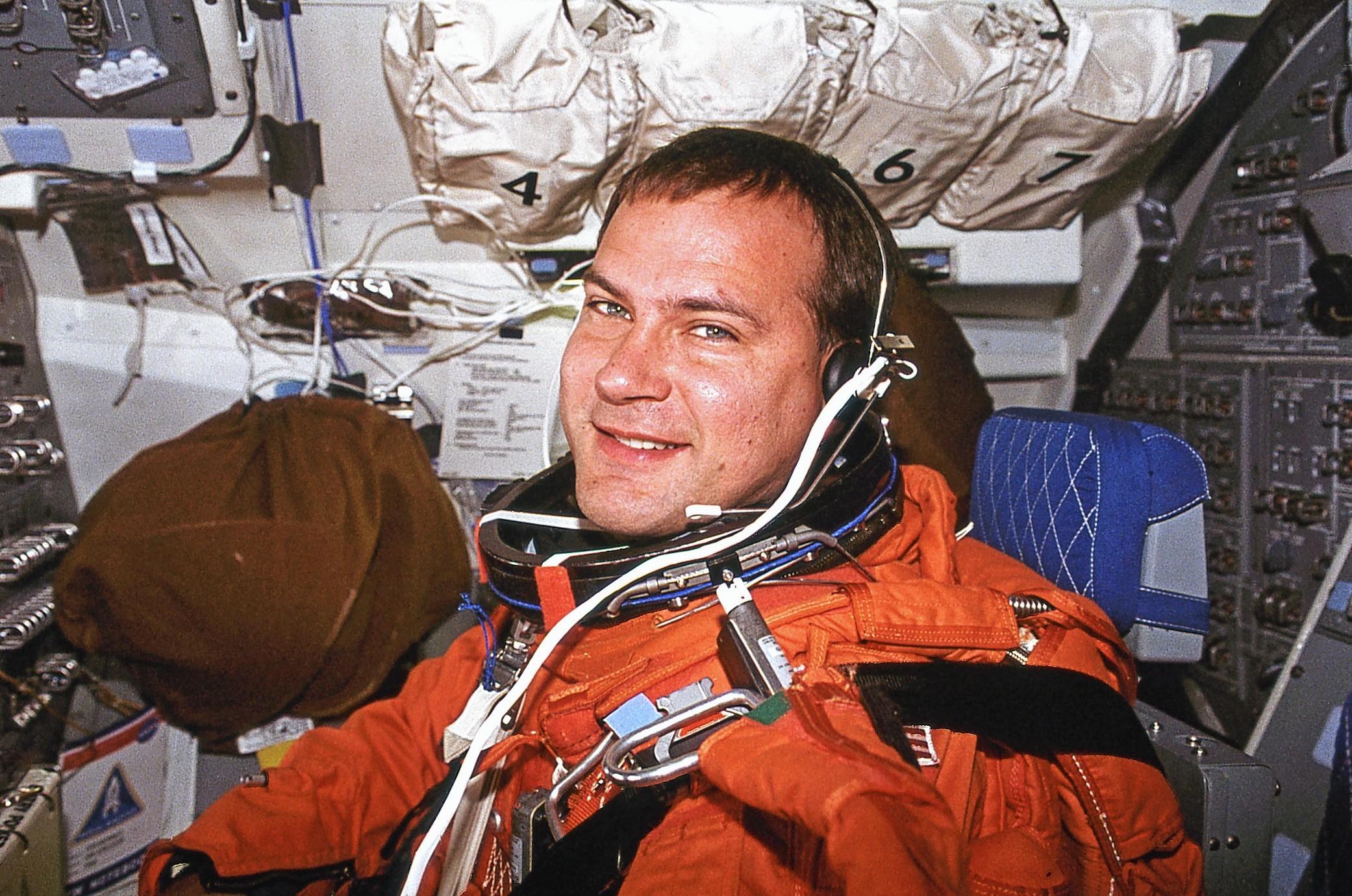 US astronaut Rick Hieb