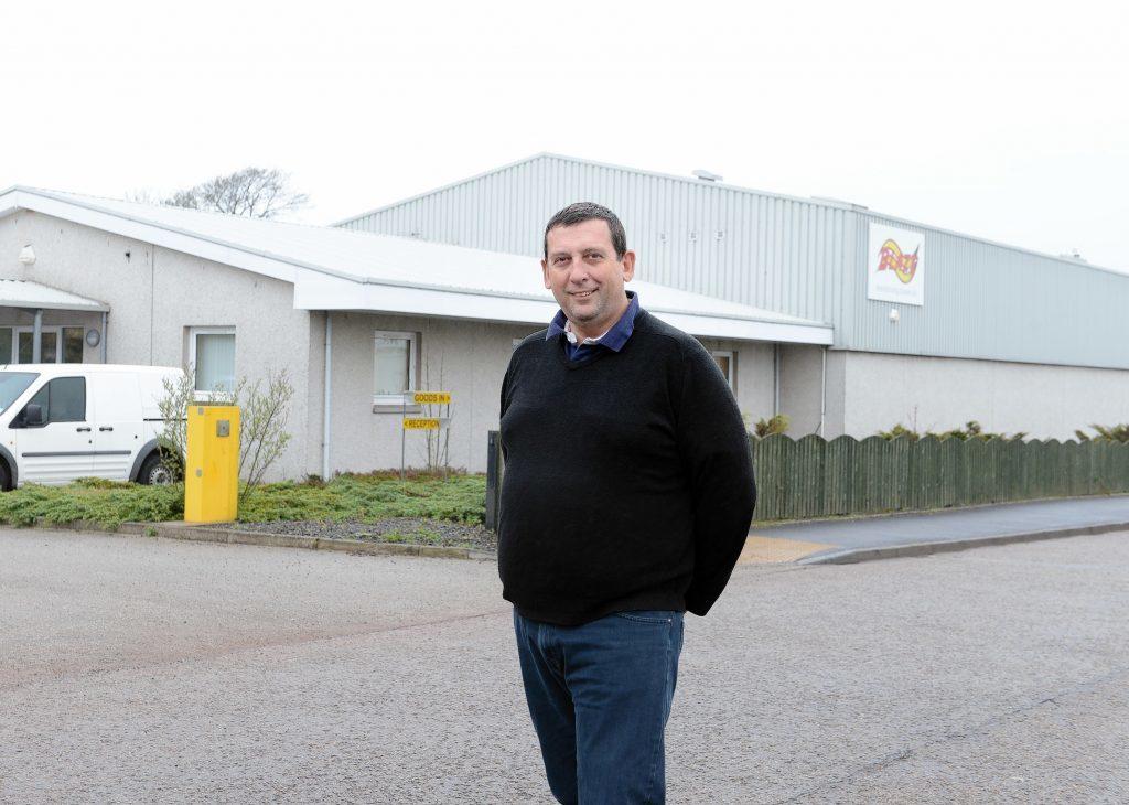 Howard Johnson, managing director of Blaze Manufacturing