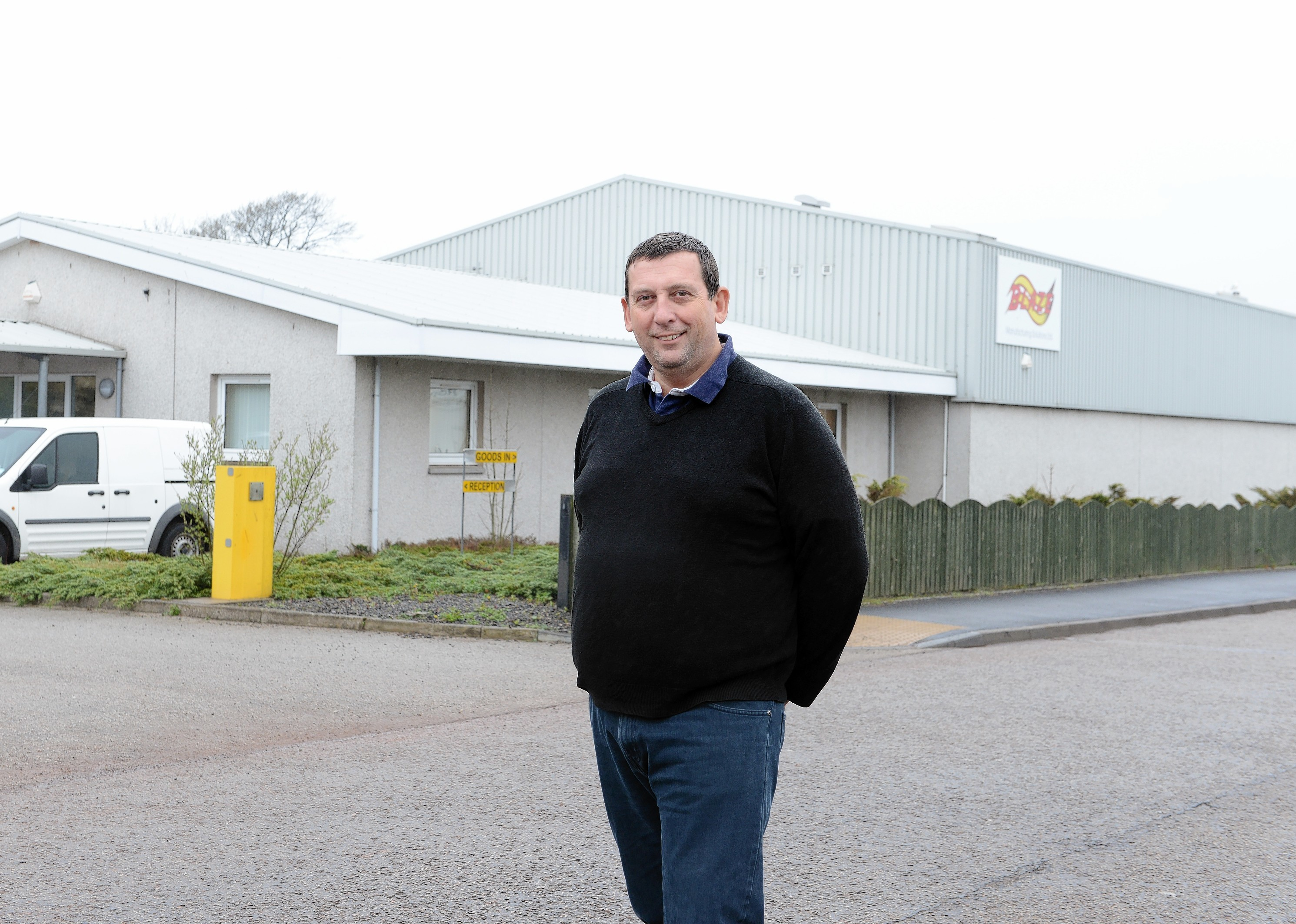 Howard Johnson, managing director of Blaze Manufacturing