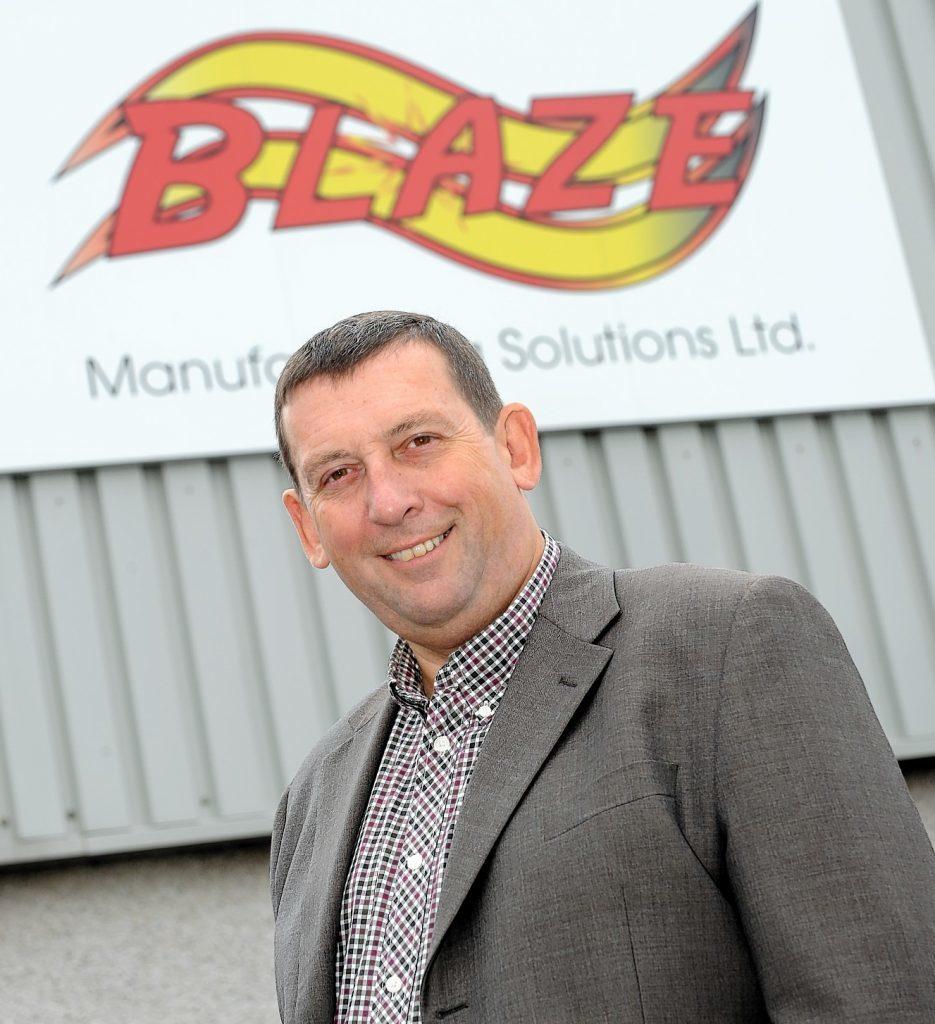 Blaze Manufacturing managing director, Howard Johnson.