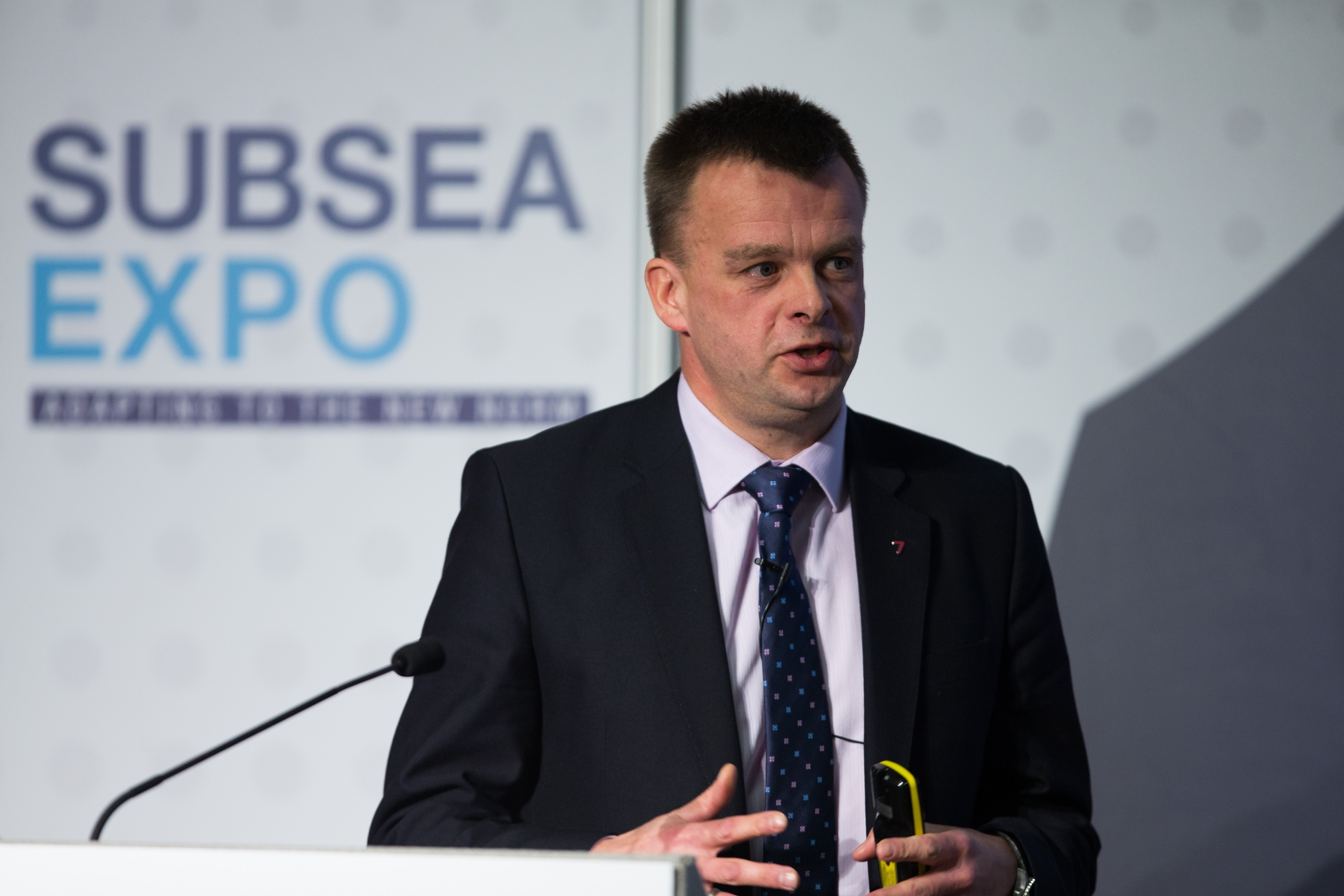 Phil Simons, North Sea & Canada vice president, Subsea 7.