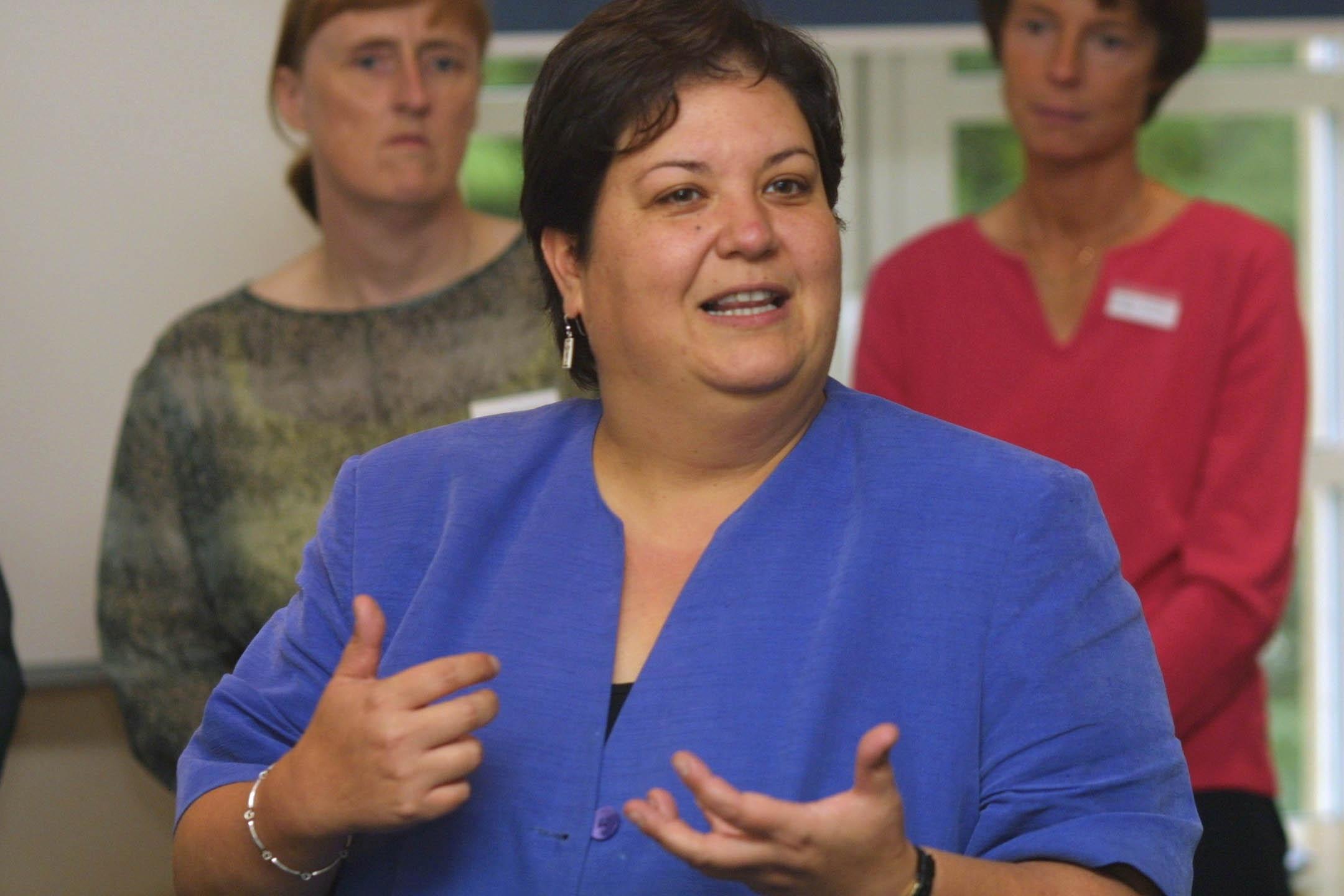 Labour economy spokeswoman Jackie Baillie.