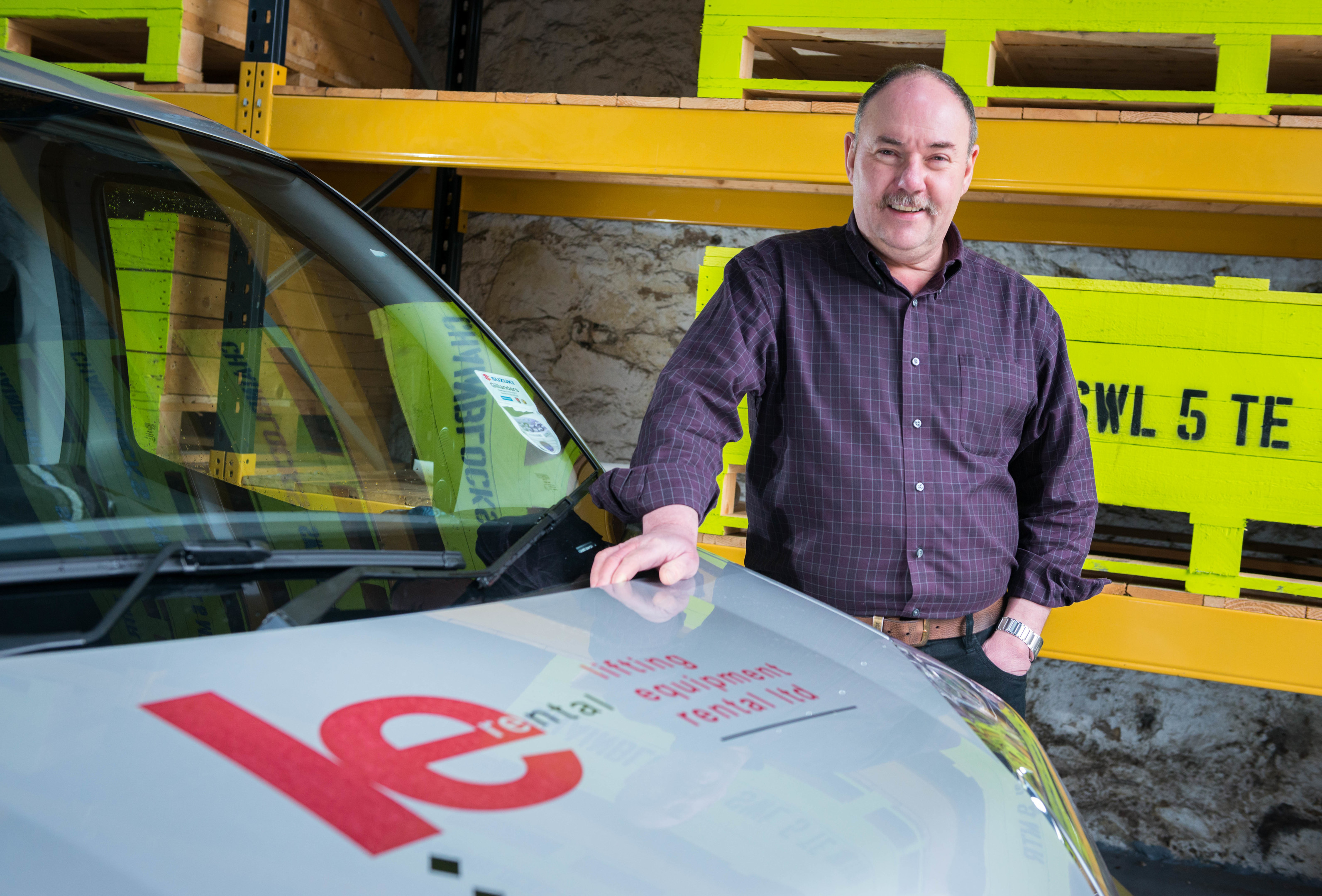 John Aitken, owner of Lifting Equipment Rental, announces an investment of six-figures in the upgrade its hydraulic fleet.