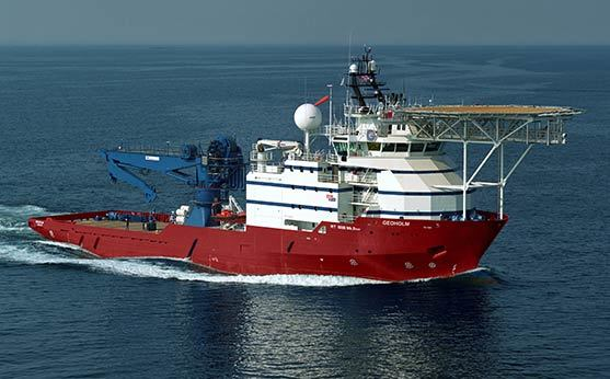 DOF's Geoholm vessel, built in 2006