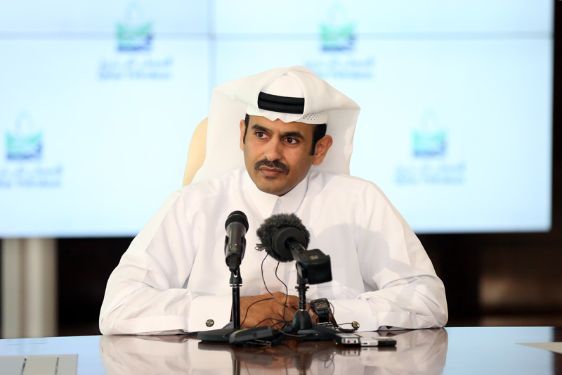 Saad Sherida Al-Kaabi, President and CEO of Qatar Petroleum