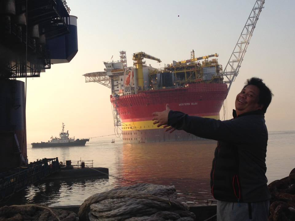 The Western Isles FPSO leaves China