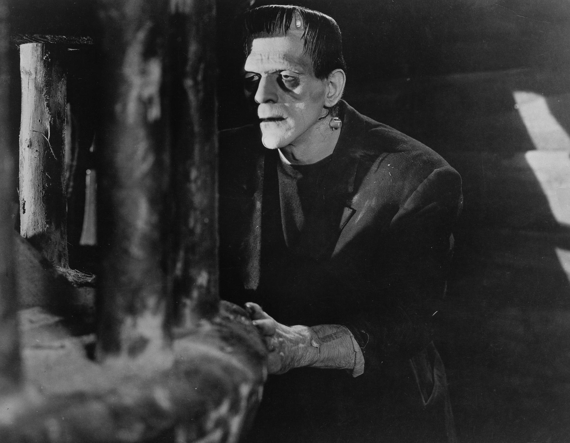 Boris Karloff, as Frankenstein's monster (AP Photo/Universal Studios Home Entertainment)