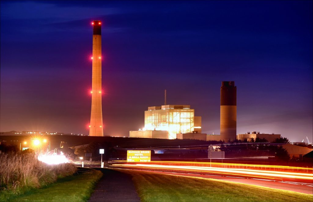 Peterhead Power Station.
