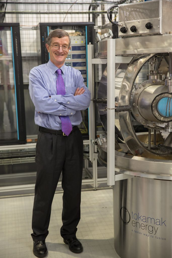 Dr David Kingham, CEO of Tokamak Energy