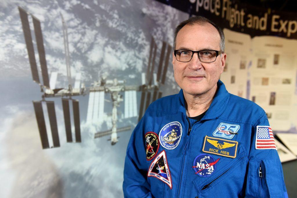 Astronaut Richard Hieb