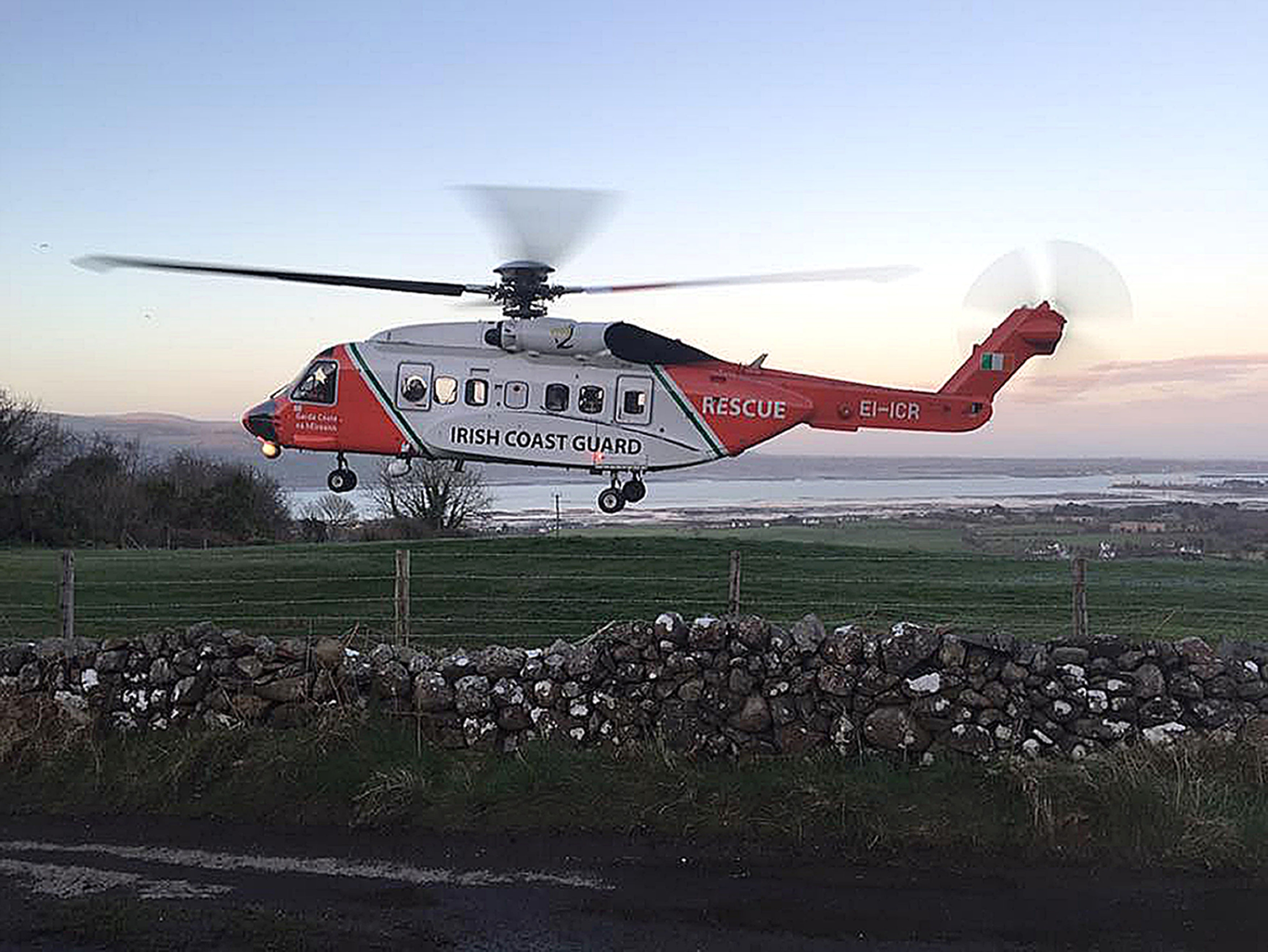 The S92 that crashed off Ireland