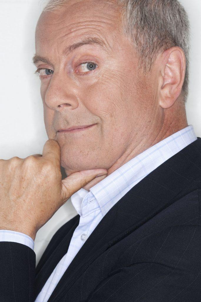 Presenter, Giles Brandreth