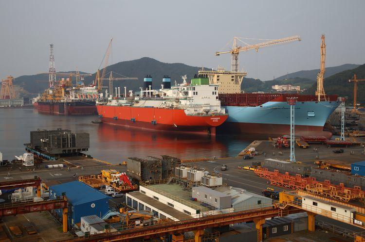 Daewoo shipyard