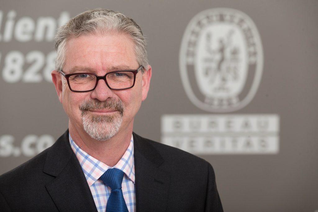 Bureau Veritas North Sea CEO Paul Shrieve