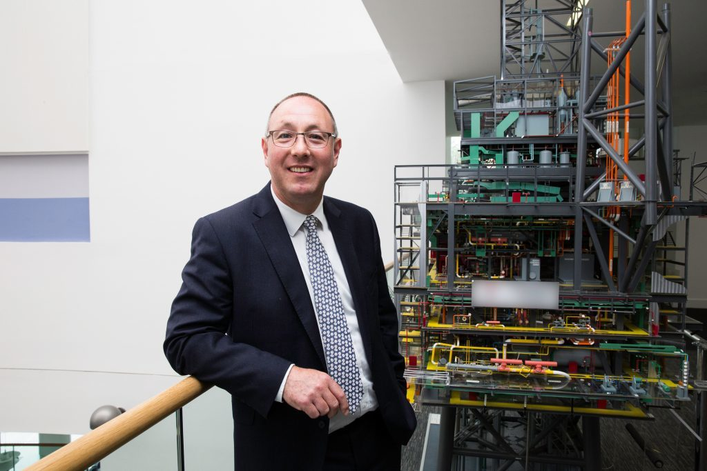 Paul de Leeuw, director of RGU's Energy Transition Institute.