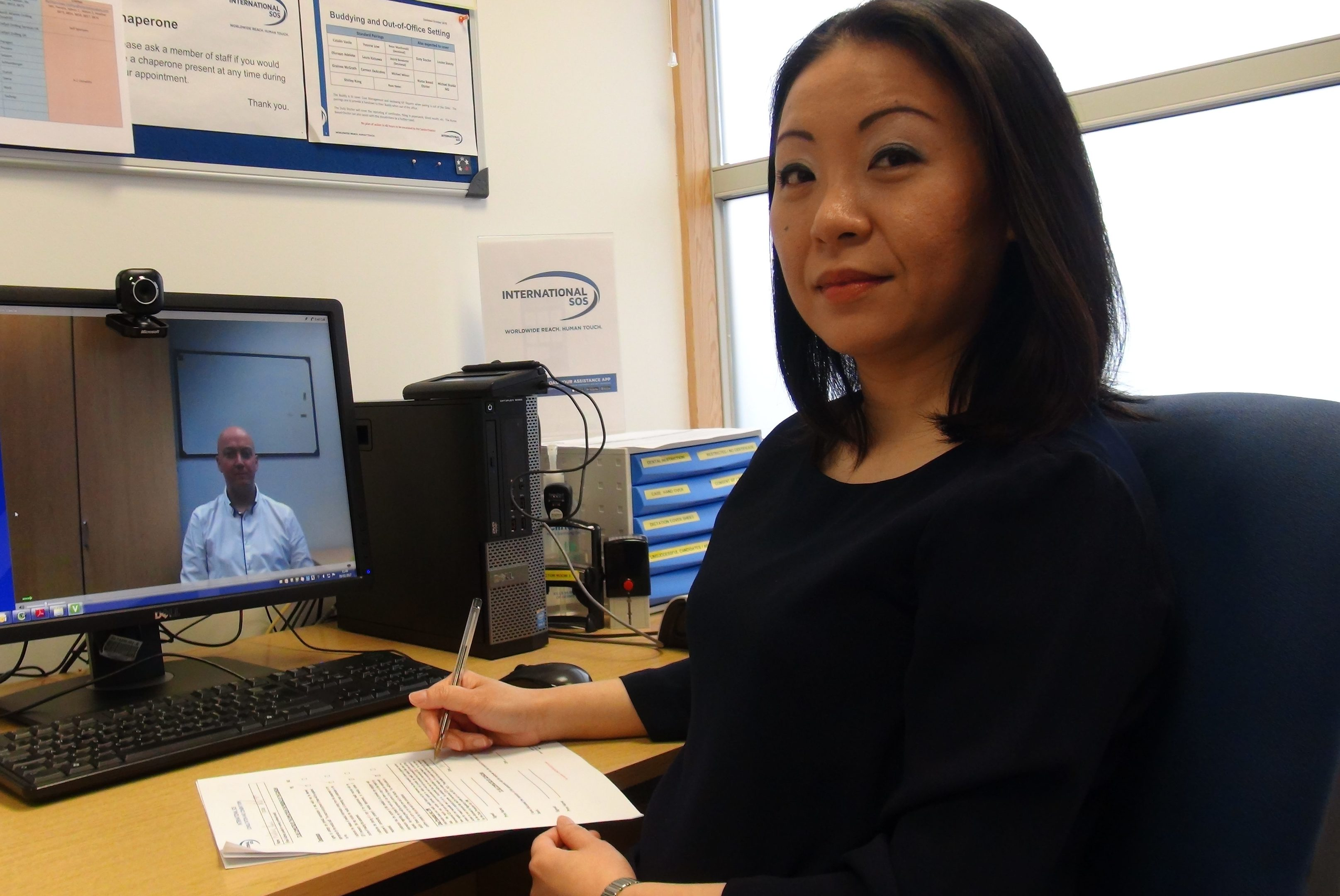 Shirley Kong, senior medical officer at International SOS