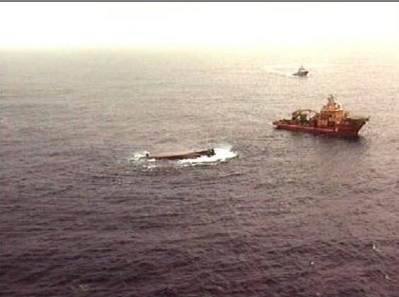 A marine disaster which caused the greatest loss of life in the North Sea since Piper Alpha has been remembered ten years after the Bourbon Dolphin capsised with the loss of eight lives.