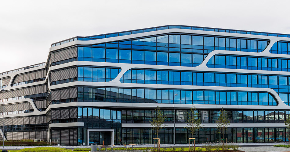 Wintershall Norge's new main office building in Stavanger,