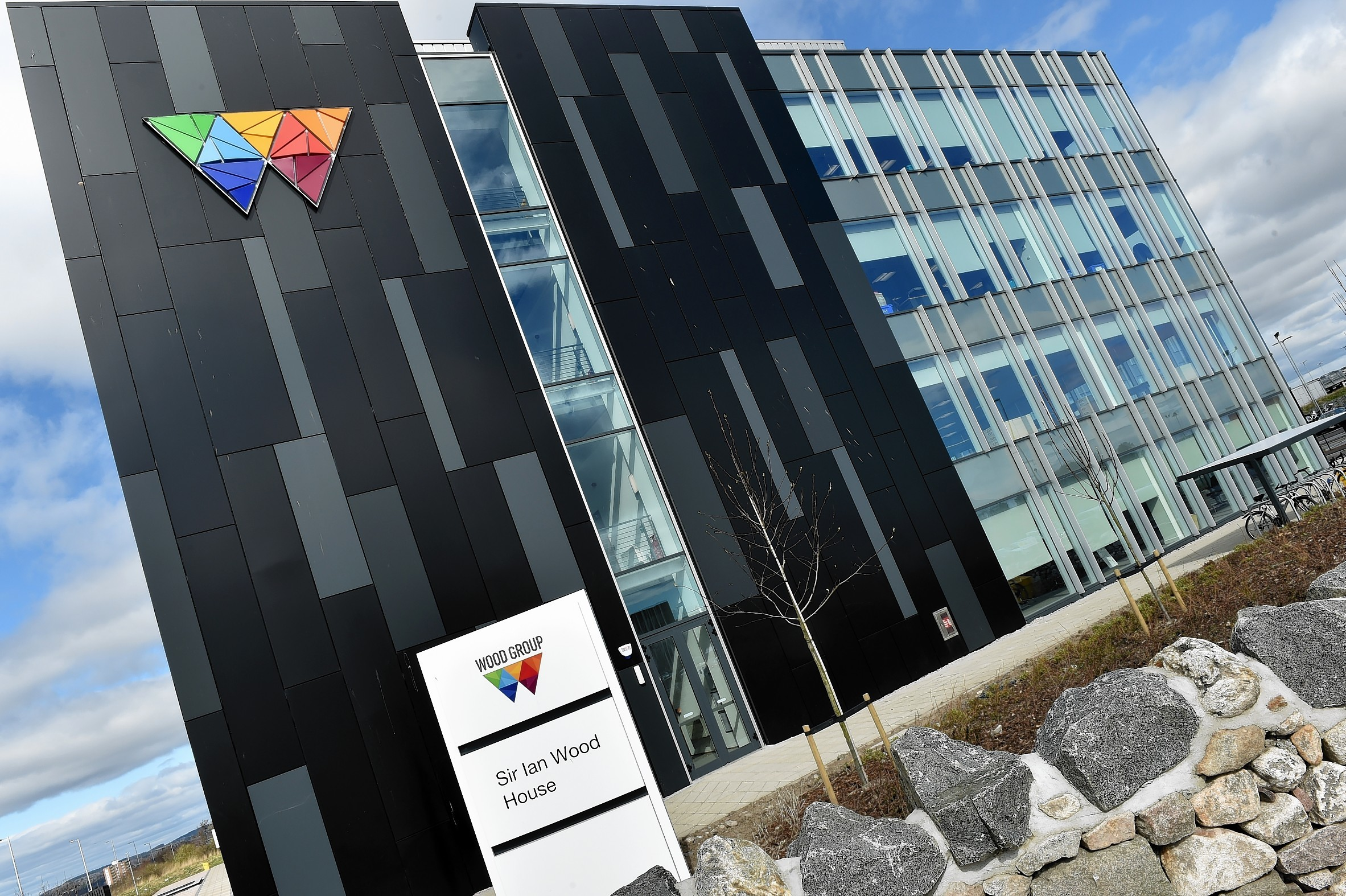 Wood's headquarters in Aberdeen