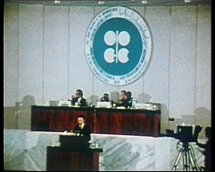 A meeting of OPEC in 1975