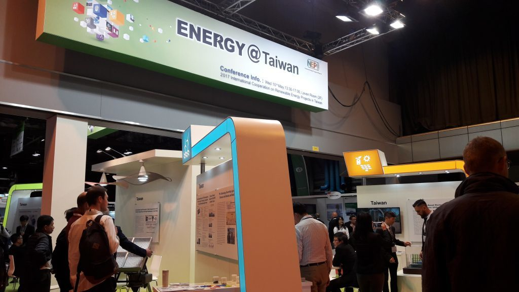 The Energy @ Taiwan stand at All Energy