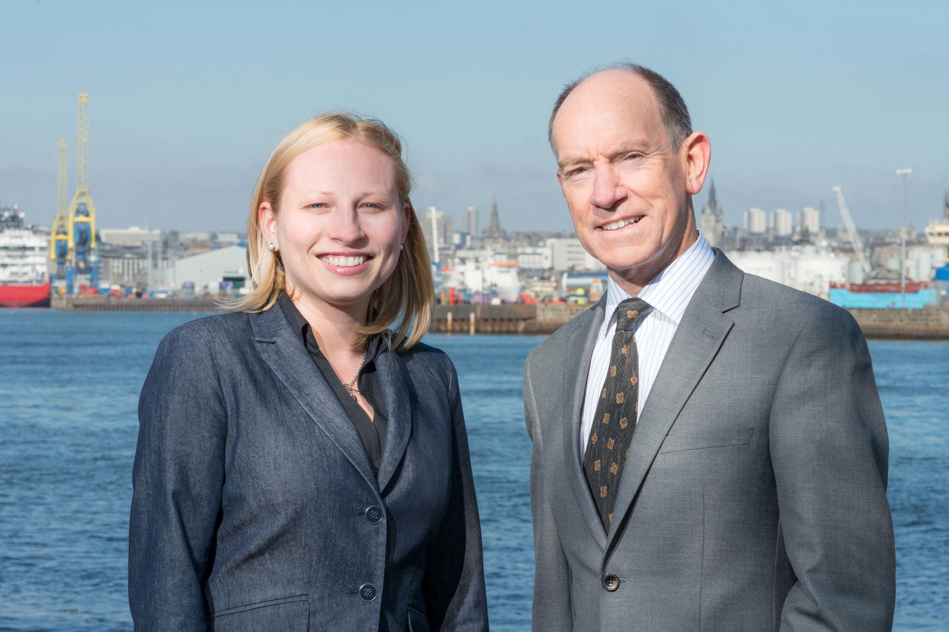 1CSI founders Aleksandra Tomaszek, chief operating officer and Matthew Kennedy, chief executive