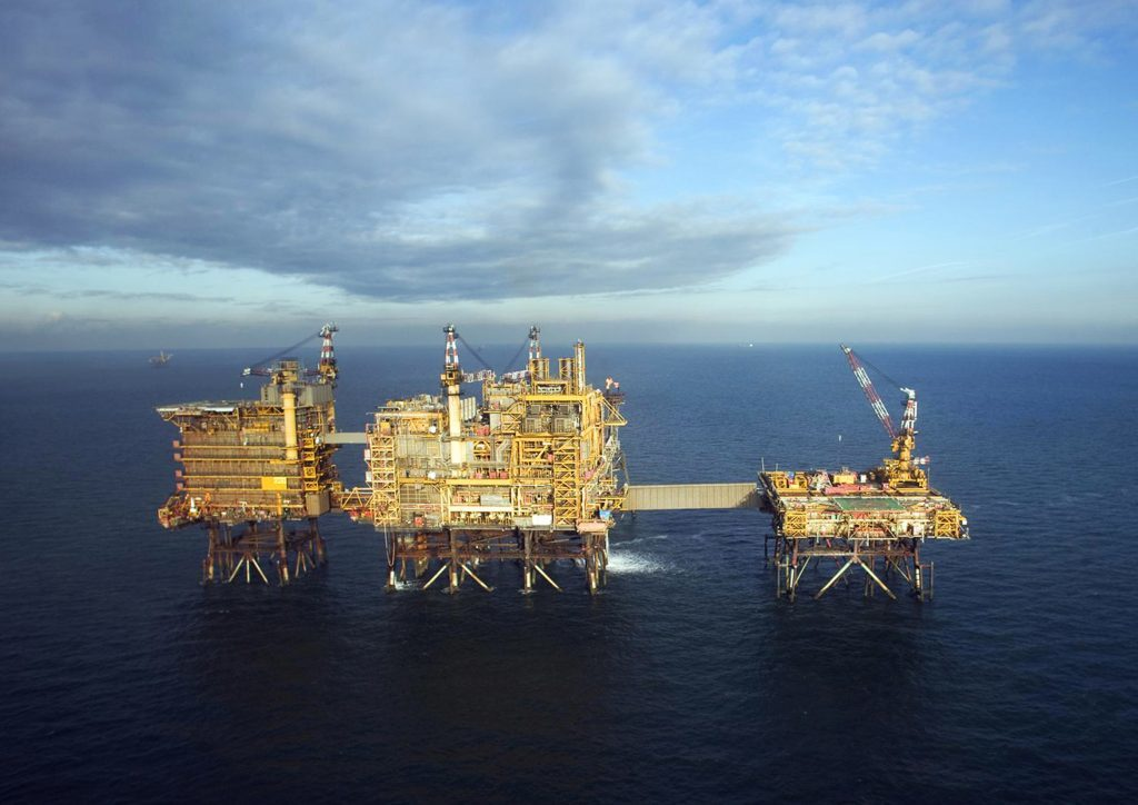 Spirit Energy operates the Morecambe Bay Central Platform