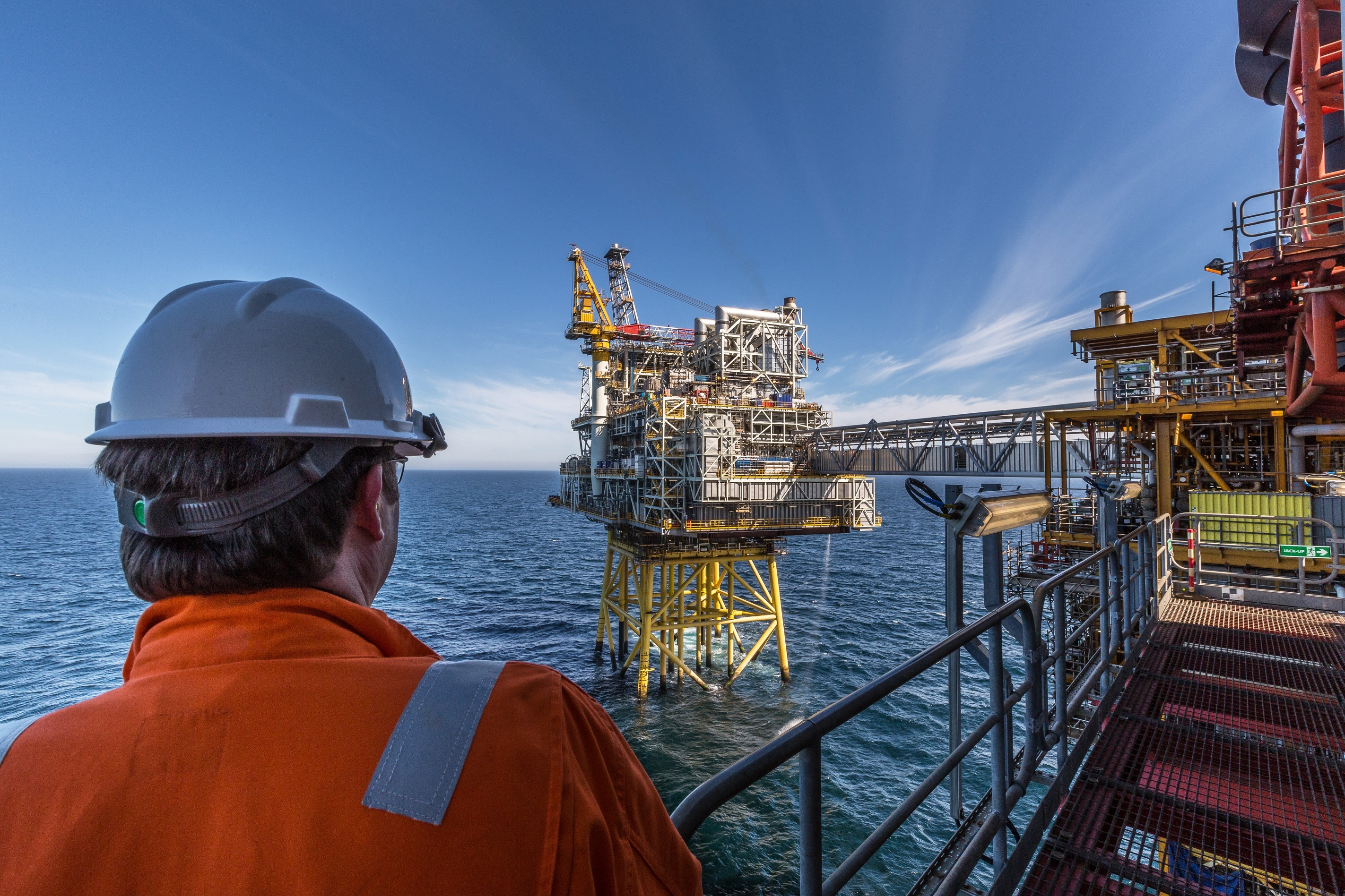 The Repsol Sinopec Resourses UK Montrose Alpha platform