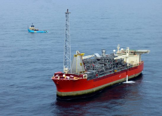 The Searose FPSO on the White Rose field, offshore Newfoundland and Labrador