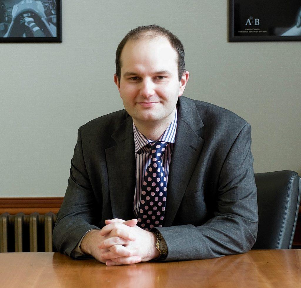 Douglas Martin, head of corporate finance at AAB.