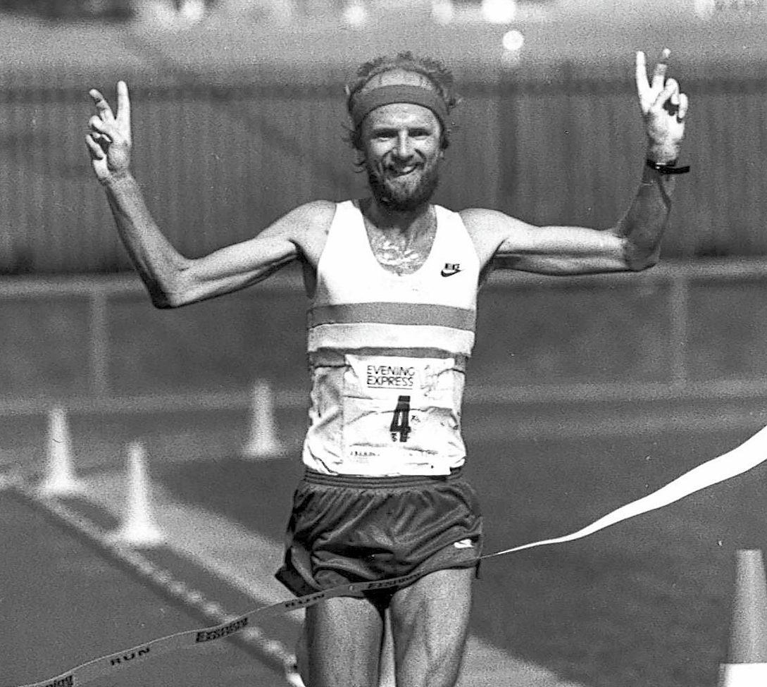 Fraser Clyne was the winner of the first Baker Hughes 10k in 1987