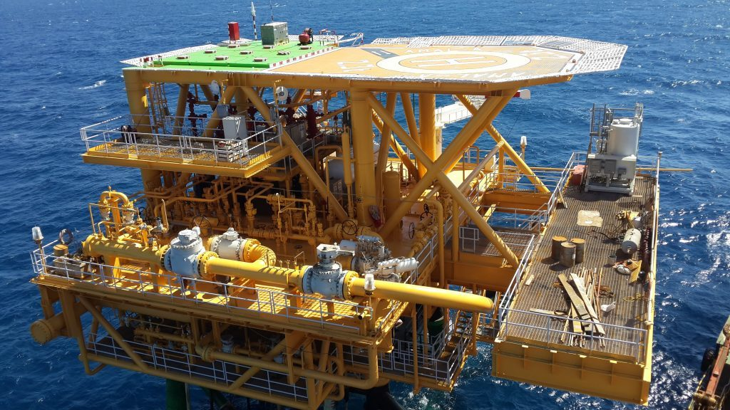 Aquaterra technology in use offshore of Egypt