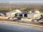 Artist's impression issued by EDF of plans for the  Hinkley Point C nuclear power station