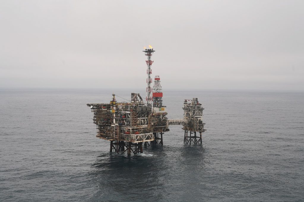 The Bruce platform in the North Sea