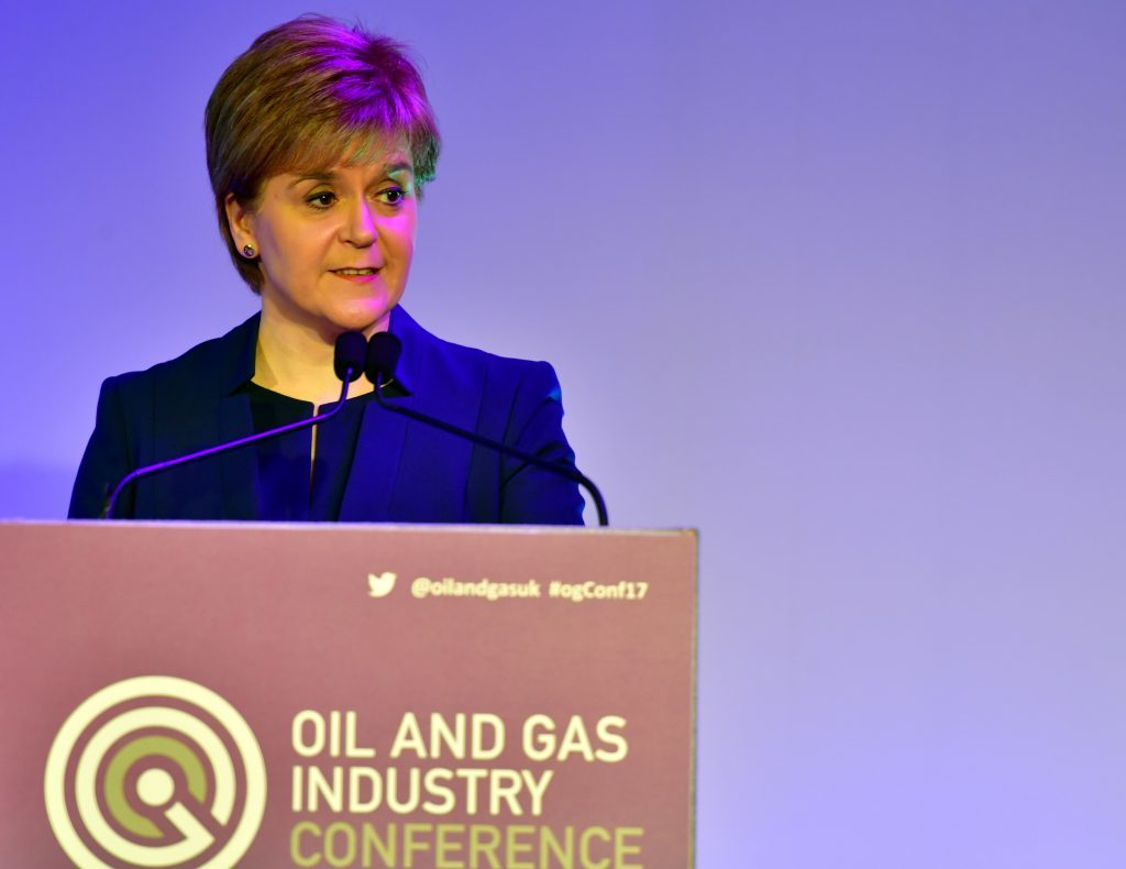 First Minister Nicola Sturgeon today announced the Scottish Investment Bank.