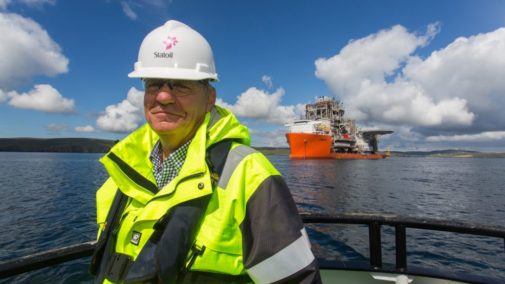 Uno Rognli, Project Director (Ross Johnston/Newsline Media/Statoil)