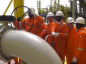 Ghana's president opens the valve of his country's third oil find.